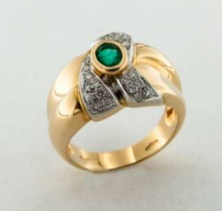 ring with diamonds and emerald price 2 690 the ring is accompanied by