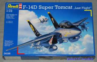 REVELL 1/72   ART. 04195 CACCIA F 14D SUPER TOMCAT LAST FLIGHT NUOVO