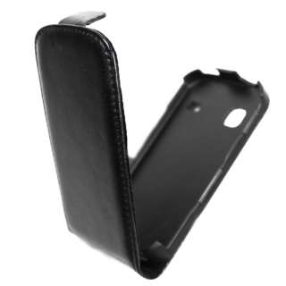 et film pour SAMSUNG Galaxy GIO   S5660 NEUF cuir rabat protection