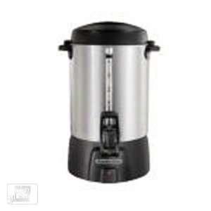 Hamilton Beach 45060 60 Cup Brushed Aluminum Coffee Urn