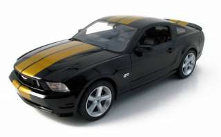 COLLECTIBLES 118 SCALE SPECIAL EDITION BLACK 2010 FORD MUSTANG GT