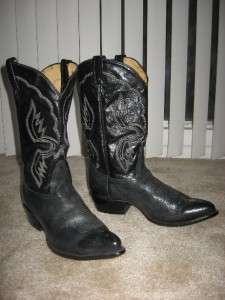Tony Lama mens cowboy western boots 11.5 D USA
