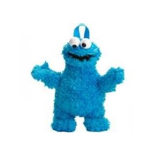 Sesame Street Cookie Monster 13 Plush Backpack UPC 843340036311