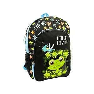 Littlest Pet Shop LPS 16 inch Backpack   Frog: Toys