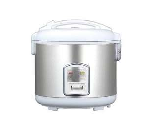 Oyama 10 Cup Stainless Steel Rice Cooker/Warmer/Steamer   QVC