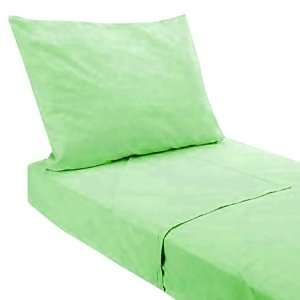 Pam Grace Creations SH GREEN Twin Green 3 Piece Sheet Set
