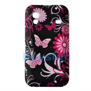 SAMSUNG GALAXY ACE Butterfly Silicone Cover Case Skin