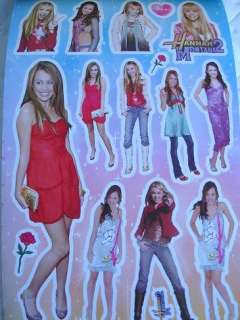 HANNAH MONTANA Party Favors x12 BOOKS Sticker Treats NW