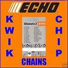 10 25cm Echo Genuine Stihl Chainsaw Chain 3/8 PM 1.3m
