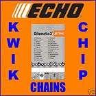 10 25cm Echo Genuine Stihl Chainsaw Chain 3/8 PM 1.3m