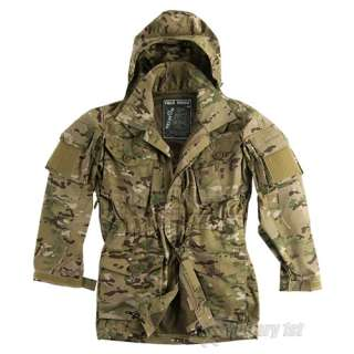 Military 1st   ARMY FIELD PARKA WINDPROOF JACKET SMOCK MULTCAM S XXL