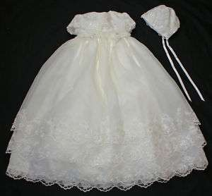 NEW Sarah Louise 164 baby girl christening gown dress