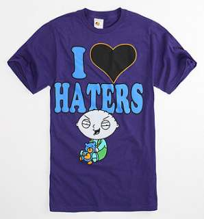 Changes Stewie Loves Haters Tee   PacSun