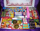 Valentines Day Large Letter Retro Sweet Gift Box+Certificate 65 Sweet