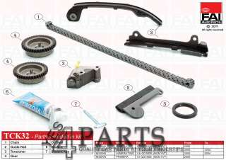 NISSAN ALMERA Mk II (N16) 1.5 Timing Chain Kit