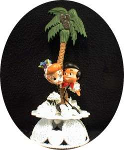 LUCY & Ricky CHACHA Wedding Cake Topper I LOVE ornament