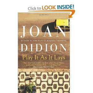 Play It as It Lays (9780007414987) Joan Didion Books