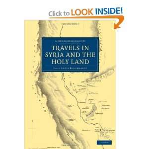 Travels in Syria and the Holy Land (Cambridge Library Collection