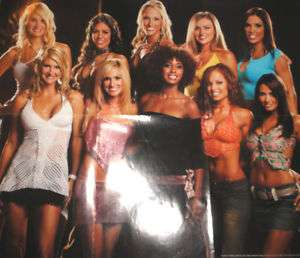 WWE Diva Search Poster Rare Michelle Christy Maria TNA