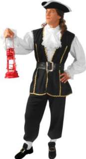 Adult Paul Revere Costume (Size:Large 44 46): Clothing