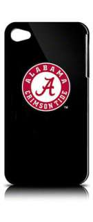Alabama Crimson Tide iPhone 4 Case Black Shell