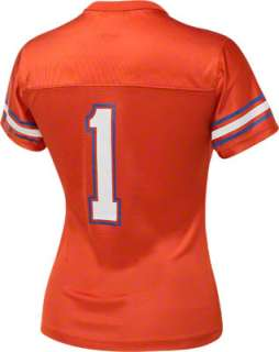 Florida Gators Womens Nike Orange #1 Football Replica Jersey