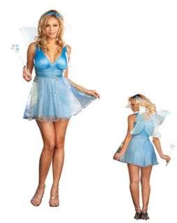 Womans Plus Sexy True Blue Fairy Costume  Fairy Halloween Costumes