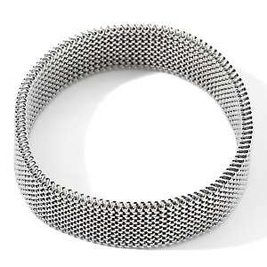 Steel Jewelry Mesh Design Stretch Bracelet