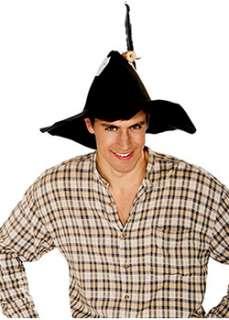Black Felt Hillbilly Hat Adult