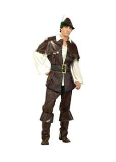Deluxe Robin Hood  Cheap Fairytale Halloween Costume for Men