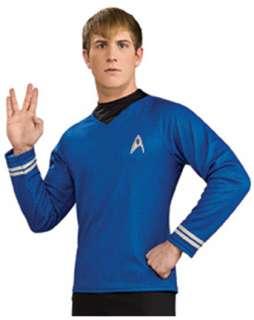 Star Trek the Movie Adult Deluxe Blue Shirt  Wholesale Movie