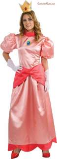 Super Mario Bros.   Deluxe Princess Peach Adult Costume