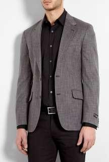 Paul Smith London  Grey Marl Wool Mid Fit Byard Blazer by Paul Smith