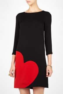 Moschino Cheap & Chic  Heart Tunic Dress by Moschino Cheap & Chic