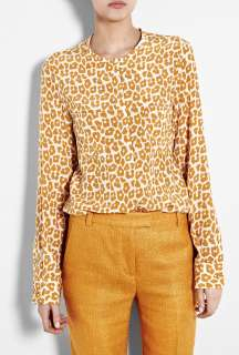 Phillip Lim  Leopard Print Silk Blouse by 3.1 Phillip Lim