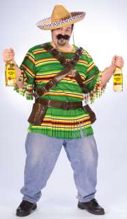 Size Tequila Bandito Costume   Funny Halloween Costumes   15FW119435