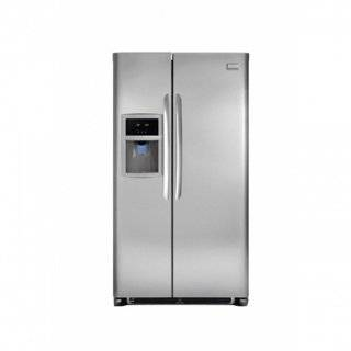 22.6 Cu. Ft. Side by Side Refrigerator   Stainless Steel Appliances