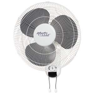 Atlantic Breeze 16 Wall Mount Fan with Pull Chains ATL49256