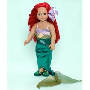 Madame Alexander Disney Princesses Ariel 18 Cloth Doll