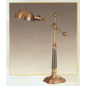 Antique Brass And Marble Desk Lamp Home Improvement