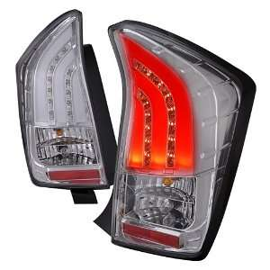 TOYOTA PRIUS DRL STRIP LED TAIL LIGHTS CHROME CLEAR Automotive
