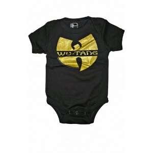 WU TANG CLAN LOGO INFANT ONE PIECE BODYSUIT Baby