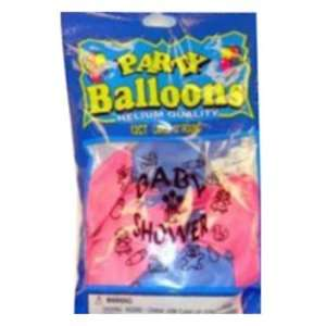 12 Pack Baby Shower Balloon Assorted Case Pack 240