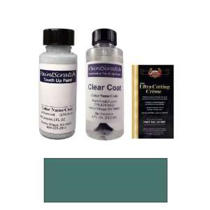 2 Oz. Bermuda Blue Metallic Paint Bottle Kit for 2007 GMC