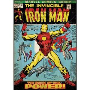 Book Cover   Iron Man Comic Book Cover