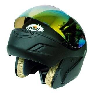 Motorcycle Street Bike Modular Filp up Full Face Adult Helmet Solid