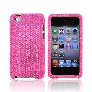 For Apple iPod Touch 4 Bling Case Cover HOT PINK Electronics