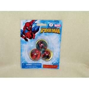 The Amazing Spider  Man (3 Bounce Balls) Toys & Games