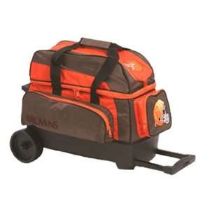 NFL Double Roller Bowling Bag  Cleveland Browns  Sports