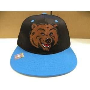 UCLA Bruins Big Logo Bla 2 Tone Snapback Cap Retro